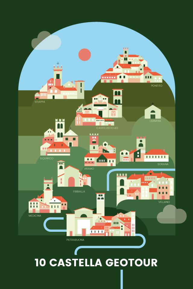 10 Castella GeoTour
